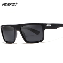 KDEAM Rectangle Men Sunglasses Polarized With Elastic-paint