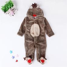 Bebé mono Toddle Pijamas de terciopelo de Coral mameluco de invierno y  otoño ropa de dibujos 7dd4437d421c