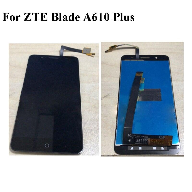 Panneau LCD pour ZTE Blade A610 Plus écran d'affichage Lcd pour ZTE Blade A 610 Plus écran tactile numériseur écran tactile panneau de verre