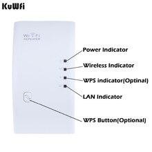 Répéteur WIFI sans fil 300Mbps amplificateur dextension de portée de Signal WiFi Mini Booster Support WPS 802.11N/B/G 2dBi antennes US/EUPlug