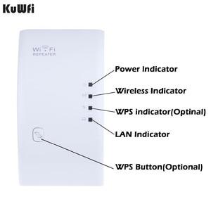 Image 1 - Wireless WIFI Repeater 300Mbps WiFi Signal Range Extender Amplifier Mini Booster Support WPS 802.11N/B/G 2dBi Antennas US/EUPlug