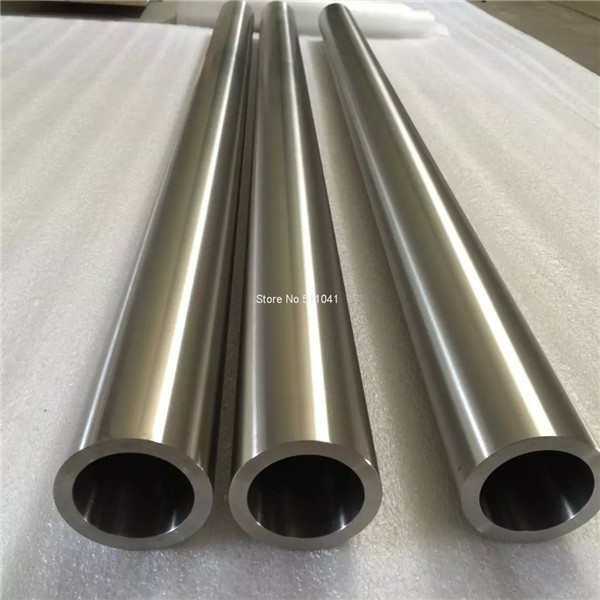 Grade2 tube en titane sans soudure gr2 tuyau en titane 50 mmOD * 5mm TH * 700mm L, 1 pc prix de gros livraison gratuite