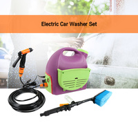 Electric Car Washer Set Portable Home Cleaning Machine Leak proof Large Capatity Dual Use Auto Cleaner Machine