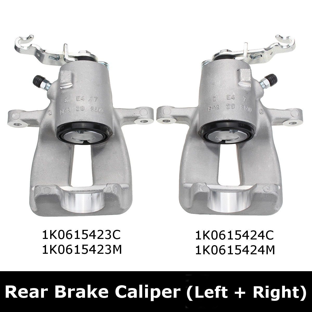 Brake Caliper Rear Left+Right For Audi A3 TT SEAT /SKODA For VW Eos Golf 5 6 Jetta TOURAN автомобильный dvd плеер wincen android 4 1 dvd vw golf 5 6 passat jetta tiguan touran skoda octavia seat altea