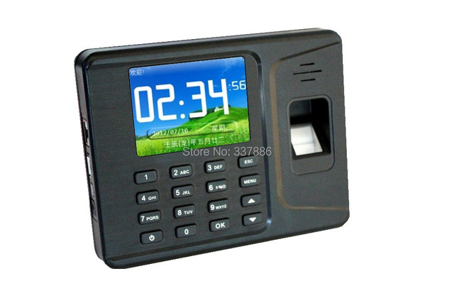 1000users TCP&IP+USB biometric fingerprint scanner time recorders with Password/ID card