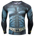 Compression Shirt Men 3D Printed T-shirts Raglan Long Sleeve Costume Tops Male Crossfit fitness body building Clothing