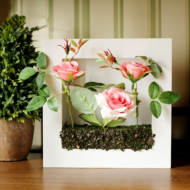 11x14 Color In Flower Pot Float Frame Black Joann Jo Ann