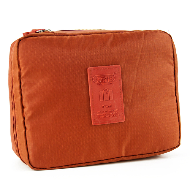 Orange Outdoor Travel First Aid Kit Bag Home Small Medical Box Emergency Survival kit Treatment Outdoor Camping