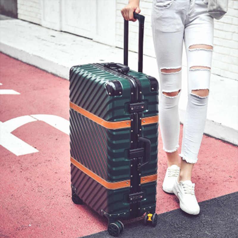 """Maleta de equipaje giratoria de 20 """"29"""" pulgadas, cubierta de carrito de PC, bolsa de viaje, Maleta de viaje con ruedas rodantes, equipaje para hombres y mujeres, viaje"""