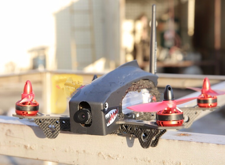 2.4G RC mini drone FPV racing quadcopter pure carbon fiber with camera 9 channels remote control AT9 QAV250 carbon fiber mini 250 rc quadcopter frame mt1806 2280kv brushless motor for drone helicopter remote control