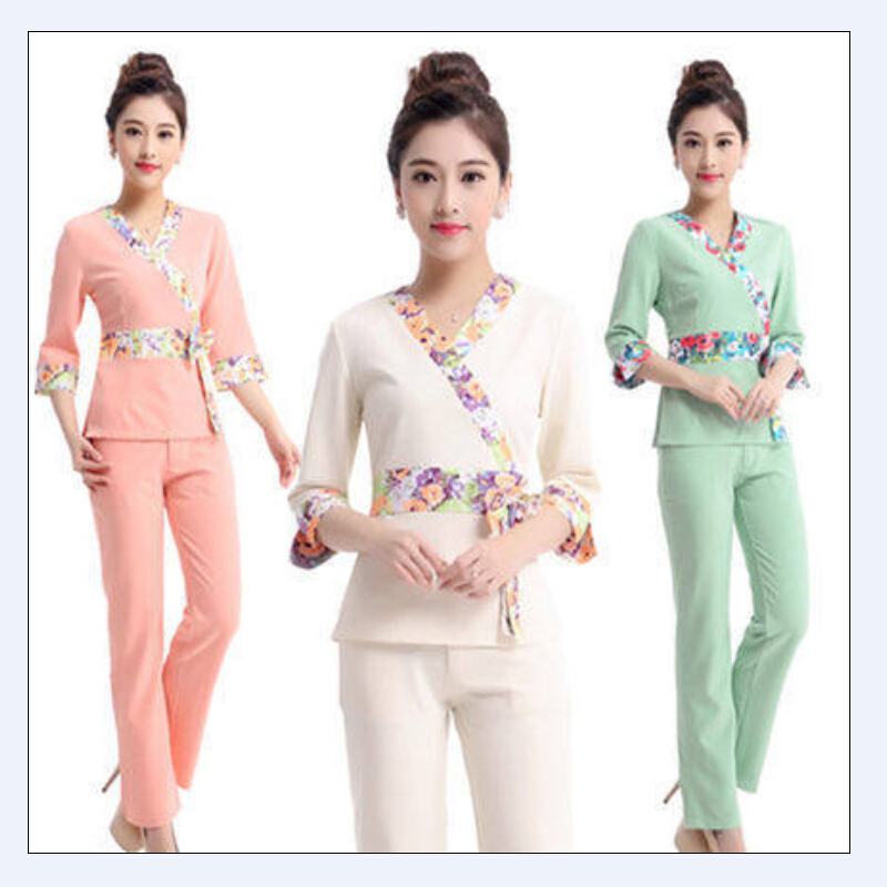 2015 summer women hospital medical clothes set dental for Spa uniform policy