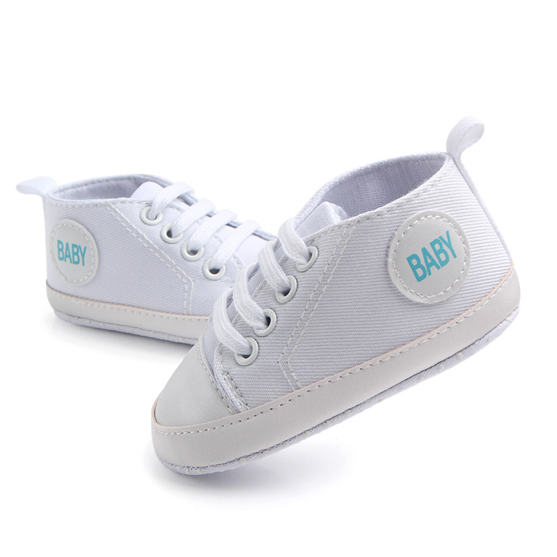 Candy Colors Baby Girls Boys Canvas Shoes Letters Baby Printed Infant First Walkers Casual Sneakers Toddler Prewalkers   Happy Baby Mama
