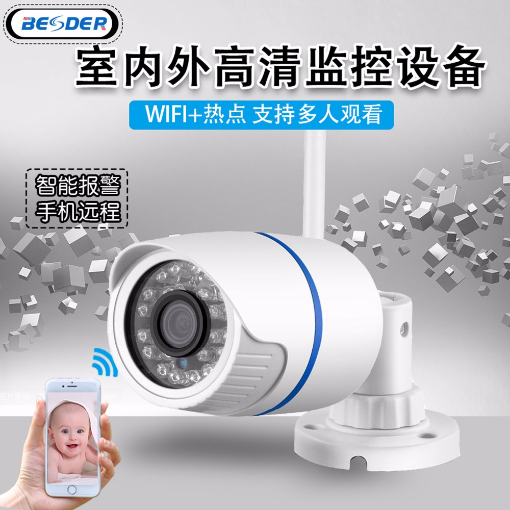 Wifi ONVIF IP Camera 1080P 960P 720P Wireless Wired P2P Alarm CCTV Bullet Outdoor Camera With SD Card Slot Max 64G gadinan hd 1080p 960p 720p wireless ip camera p2p rtsp motion detected waterproof wifi camera bullet with 64g sd card slot icsee