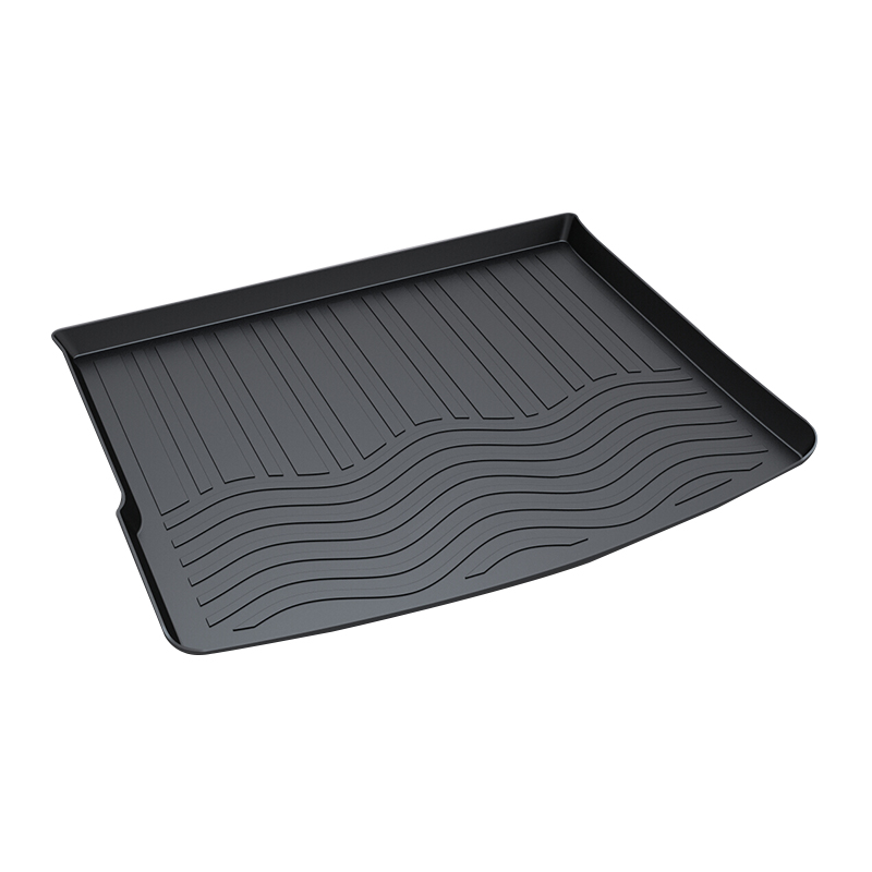 Premium Waterproof Anti-Slip Car & Trunk Tray Mat Protector Cover in Heavy Duty for Volkswagen VW Touareg 2006-2017, Black trunk tray mat for toyota corolla premium waterproof anti slip car in heavy duty black