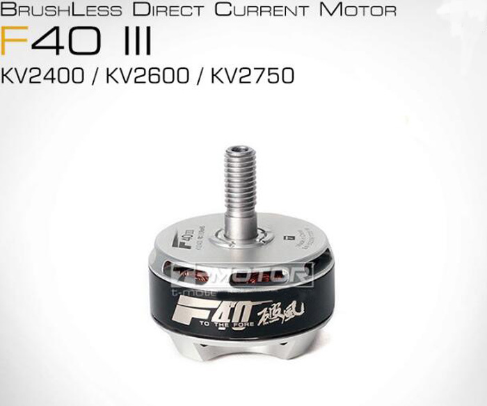Multi-axis rotor 2400kv 2600kv 2750kv brushless motor F40 III Pro for FPV racing quadcopter multicopter multirotor drone accesso drone accessories bl motor t motor u power u8 high efficiency multi axis rotary disc brushless motor tm efficiency series