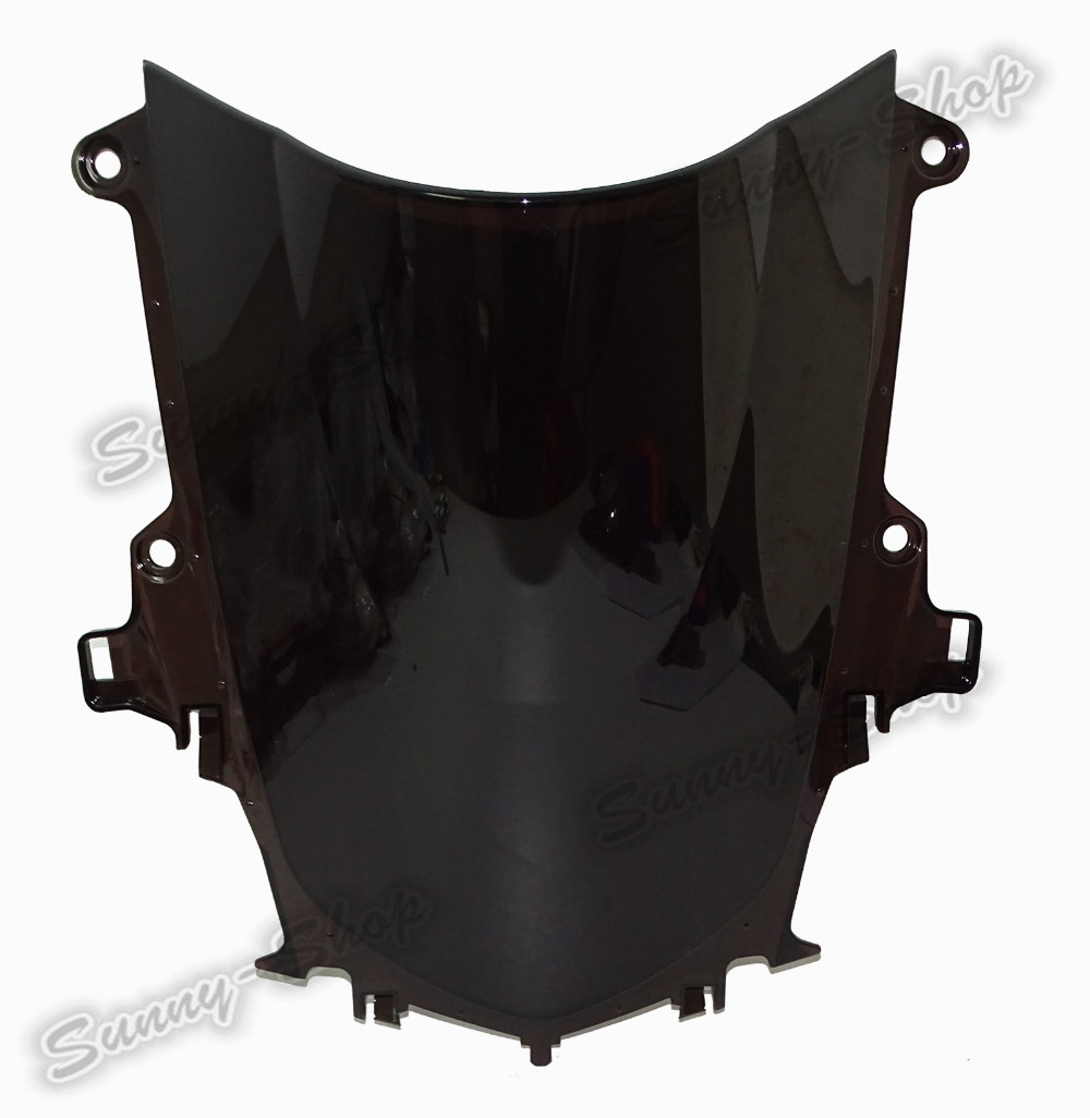 Motorcycle Double Bubble Windscreen Windshield Shield Screen For Yamaha YZF R1 R1M R1S 2015 2016