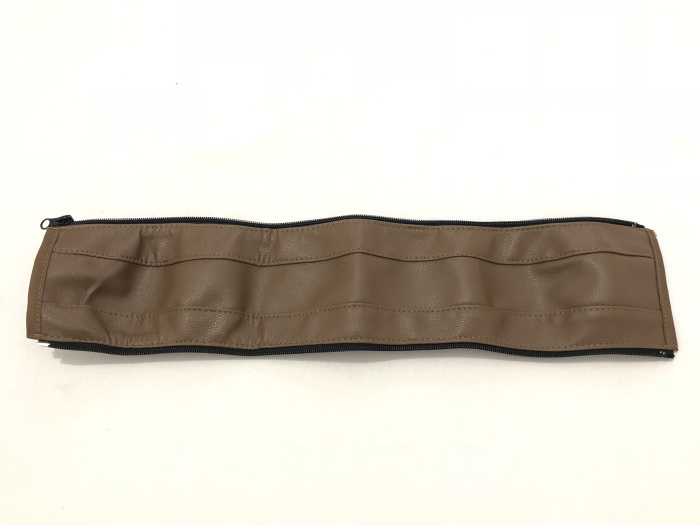 2 цвета искусственная кожа черный и коричневый детская коляска подлокотник ручка рукав крышка универсальная ручка Пыленепроницаемый Чехол - Цвет: Coffee