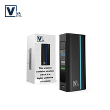 Vape Mod Electronic Cigarette Mods Vivakita Move Grand 80W Box Mod Fit Tank 510 Thread Without 18650 Battery e cigarettes mod rofvape xer 90w electronic cigarette box mod fit 510 rdta atomizer tank exr vape battery