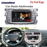 Liandlee для Ford Kuga 2008 ~ 2012 2 Дин Android gps Navi навигация Радио ТВ CD DVD проигрыватель аудио видео Стерео OBD2