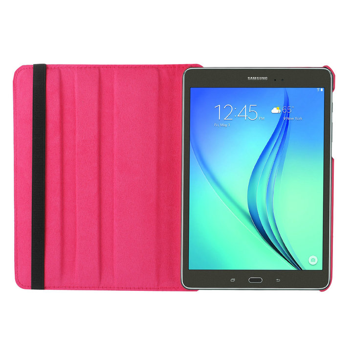 360 Degrees Rotating Litchi PU Leather Flip Cover Case For Samsung GALAXY Tab A T580 T585 SMT585C 10.1 Inch Tablet