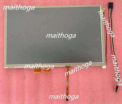 maithoga AUO 10 1 inch TFT LCD Display Screen with Touch Panel A101VW01 V3 WVGA 800