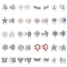 6431b5a8e4cd Pandora Earrings Charms - Compra lotes baratos de Pandora Earrings ...