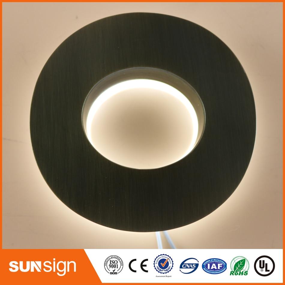 Custom LED Letters And Numbers 3D LED Backlit Led Sing