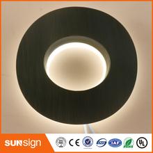 Niestandardowe litery led i cyfry 3D podświetlany diodami led led sing tanie tanio shsuosai stainless steel letter- sign backlit 0115