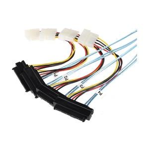 Image 2 - SFF 8643 TO SFF 8482 computer hard drive data cable mini sas line