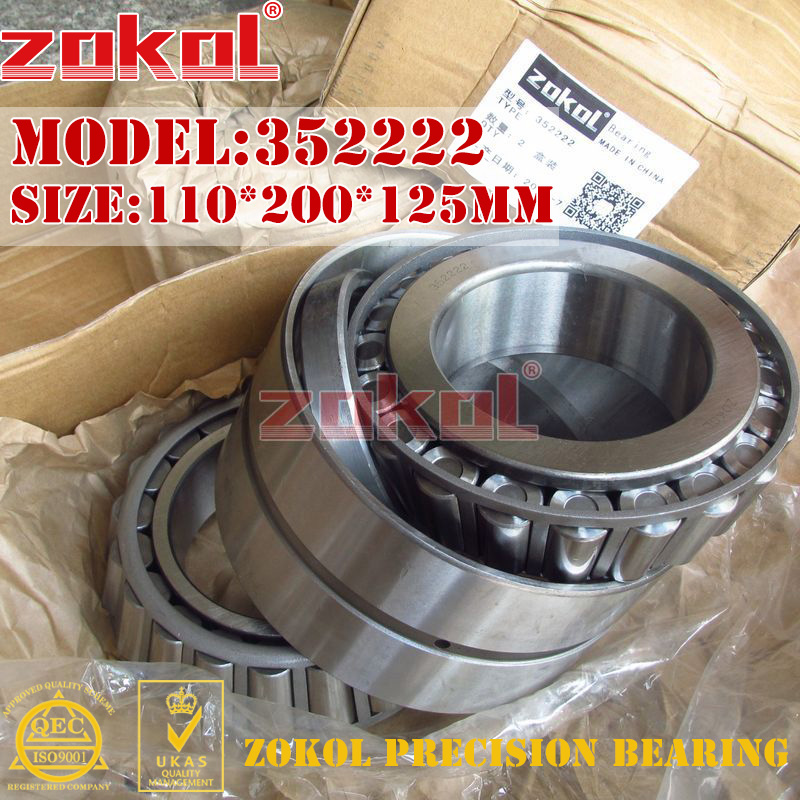 ZOKOL bearing 352222 97522E Tapered Roller Bearing 110*200*125mm zokol bearing 31310 27310e tapered roller bearing 50 110 29 5mm