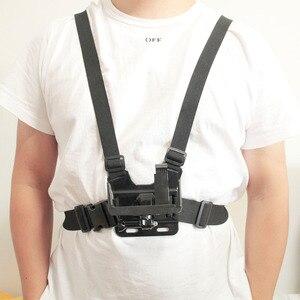 Image 2 - Universal soporte de clip para teléfono con pecho Gopro cinturón/correa para la cabeza de iPhone Samsung Huawei xiaomi smartphone para escalada ciclismo
