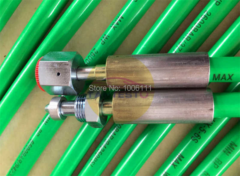 Common Rail Tube Pipe M18XM18 Length 815CM For BOSCH EPS815 EPS200 Series Common Pump Injector Rail Test Bench