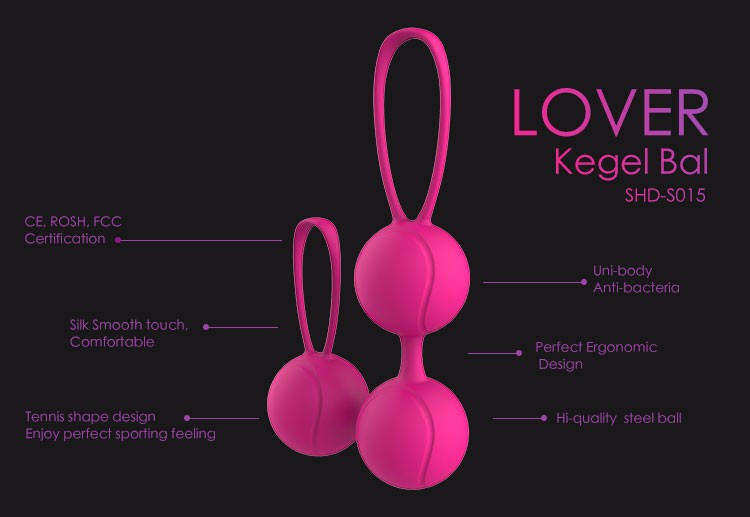 CRDC Hi-Quality Female Sex Climax Ben Wa Ball Weighted Female Kegel Vaginal Tight Exercise Machine Sex Toys For Women