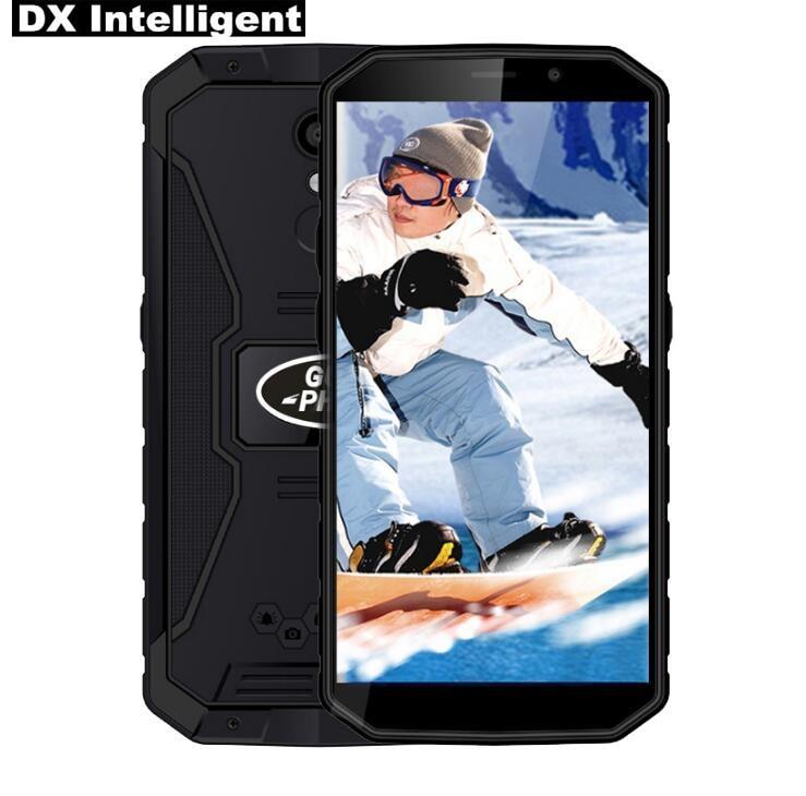 In Lager Land rover XP9800 6500 mah 5,5 zoll HD IP68 Wasserdichte MTK6739 Quad Core Android 8.1 2 gb RAM 16 gb ROM GPS Handy