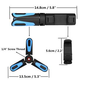 Image 3 - XILETU 360 Rotation Vertikale Schießen 2 in 1 Mini Stativ Telefon Halterung für iPhone Max Xs X 8 7 plus Samsung S8 S9 Piexl 2 3