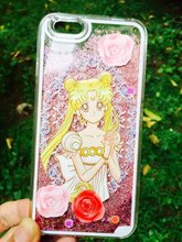 Transparent iPhone Case with Sailor Moon