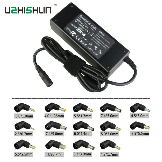 19V 4.74A 90W Universal Laptop Power Adapter Charger with