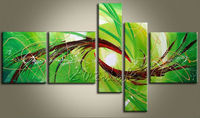 Cuadros Decoracion 5 piece panel canvas art Modern abstract hand painted picture oil painting 26