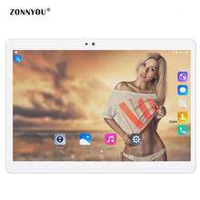 10.1' Tablet PC Android 7.0 3G Call LTE OCTA core 4GB RAM 32GB ROM Wi-Fi Bluetooth GPS HD IPS Tablets 10.1 10 PC