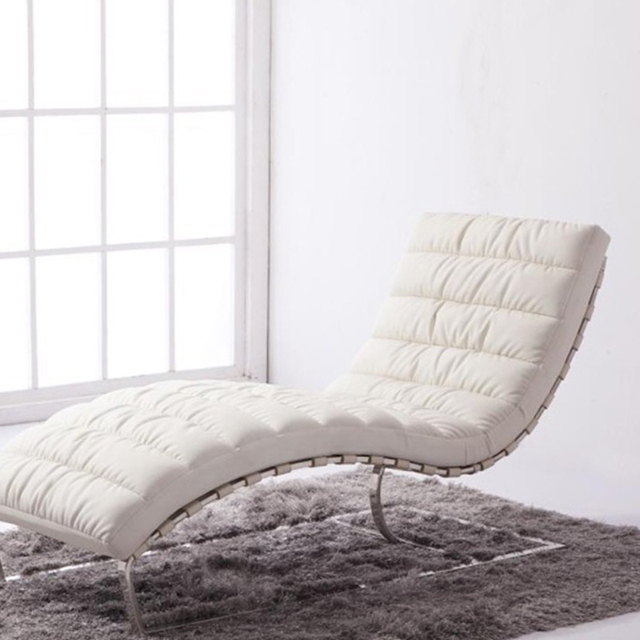 Special Minimalist Modern Creative Office Furniture Living Room Den Reading  Balcony Leather Chaise Lounge Chairs Child