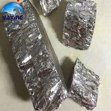 Bismuth ingot 500g โลหะ ingot ความบริสุทธิ์สูง 99.99%