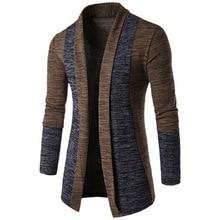 New Cardigan Sweater Men 2018 Casual Mens Sweaters Knit Sweater Autumn Winter Warm Mens Jumper Sweater Male Outwear Coat
