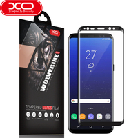 Screen Protectors XO Tempered Glass For Samsung Galaxy S8 Surface Coated Film S8Plus 3D Silk