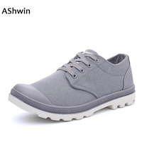 AShwin Casual Shoes Men Low Top Sneakers Loafers Lace Up Handmade Fashion Espadrilles Canvas Shoes Leisure