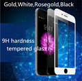 Full cover premium tempered glass for iPhone7 7plus 4.7 5.5 9H hardness Explosion proof screen protection film
