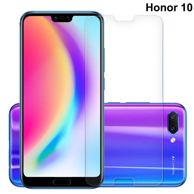 Huawei Honor 10 verre trempé pour Huawei Honor 10 protecteur d'écran 9 H 2.5D téléphone verre de protection pour Huawei Honer 10 5.84 pouces