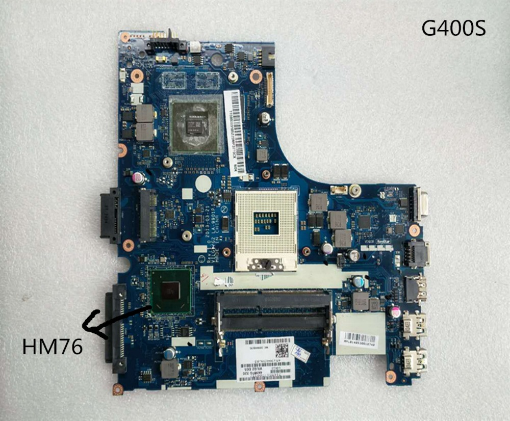 Free Shipping For LA-9901P Lenovo G400S notebook motherboard HM76 supports I3 i5 CPU full testFree Shipping For LA-9901P Lenovo G400S notebook motherboard HM76 supports I3 i5 CPU full test