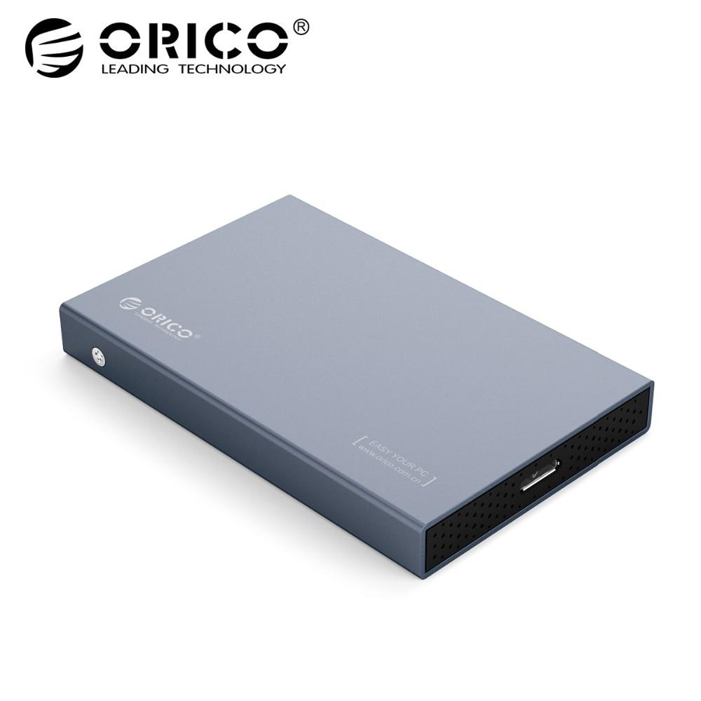ORICO HDD caso 2,5 pulgadas SATA a USB 3,1 tipo C Gen 2 para Samsung Seagate SSD 4 tb disco Duro caja externa HDD