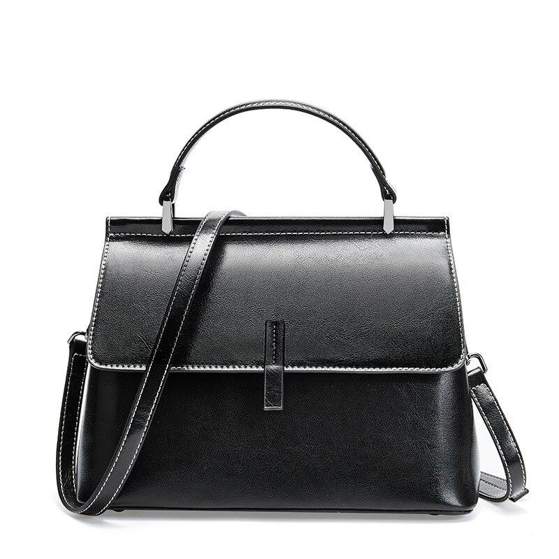 Luxe décontracté Boston Totes sacs sacs à main femmes marques célèbres en cuir Vintage sac femme sac à bandoulière pour dames nouveau C919