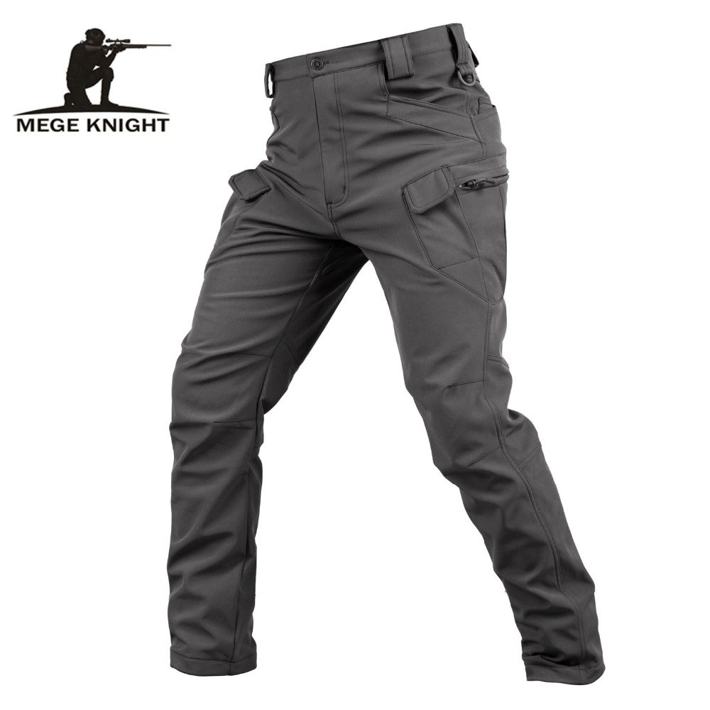 Mege Brand Clothing Autumn Winter Thermal Tactical Military Fleece Cargo Pants Camouflage Army Trousers Outdoor Hunting Clothing